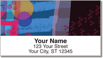 Full Moon Address Labels