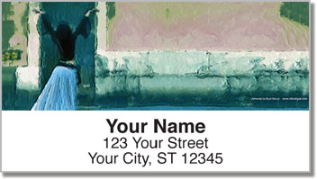 Blue Mood Address Labels