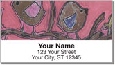 Country Abstract Address Labels