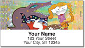 Colorful Stories Address Labels