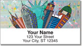 We Built This City Address Labels