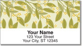 Foliage Address Labels