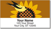 Goldfinch and Cardinal Address Labels