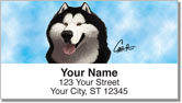 Alaskan Malamute Address Labels