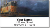 Railroads West Address Labels