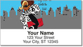 Working Girl Sisters Address Labels