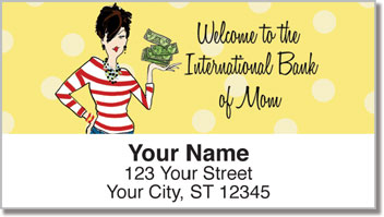 Mom on the Move Address Labels