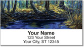 Autumn Days Address Labels