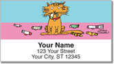 Scrivan Cats Address Labels