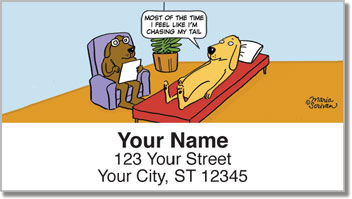 Scrivan Dogs Address Labels