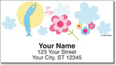 Mod Floral Address Labels