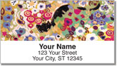 Botanical Art Address Labels