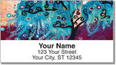 Jeweled Tree Address Labels