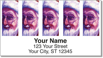 Grissom Christmas Address Labels