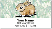 Rabbit Series Address Labels