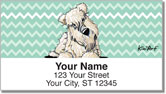 Wheaten Terrier Series Address Labels