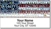 Michigan License Plate Address Labels