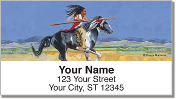 Madaras Native American Address Labels