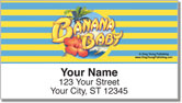 Banana Baby Address Labels