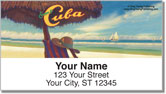 Cuba Art Address Labels