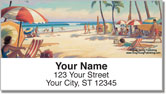 Florida Art Address Labels