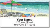 Westmoreland Beach Address Labels
