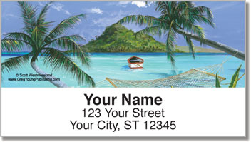 Westmorleand Tropical Address Labels