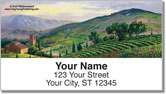 Tuscany Address Labels