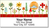 Joyful Art Address Labels