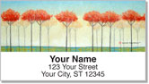 Peaceful Art Address Labels