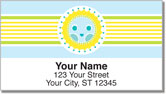 Cheery Day Address Labels