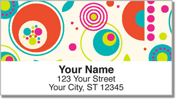 Mod Bouquet Address Labels