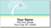 True Blue Address Labels