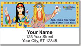Boomer Babes Address Labels