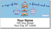 Carol Eldridge Tea Time Address Labels