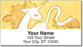 Cute Unicorn Address Labels