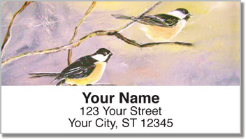 Fine Feathered Friends Address Labels