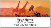 Serengeti Address Labels
