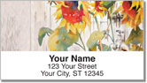 Country Scene Address Labels