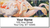 Kay Smith Flamingo Address Labels
