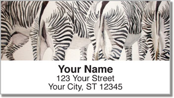 Kay Smith Zebra Address Labels