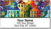 Seaside Serenade Address Labels