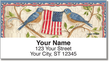 McRostie Americana Address Labels