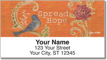 Fresh Picked Signs Address Labels