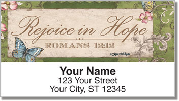 Le Jardin Signs Address Labels