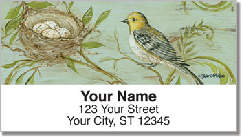 Nature's Nest Address Labels