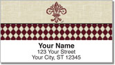 French Influence Address Labels