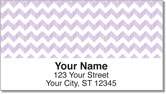 Sassy Chevron Address Labels
