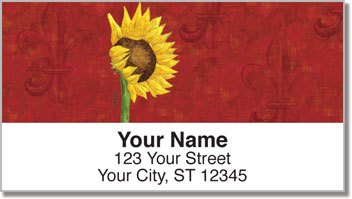 Sunflower Delight Address Labels