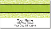 Wild About Lime Address Labels